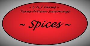 Spices label 1