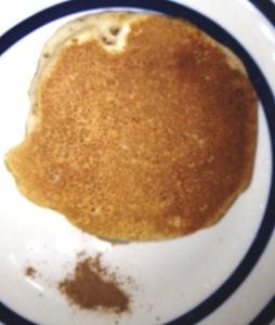 Pancake with Autumn Spice. Yum!!!