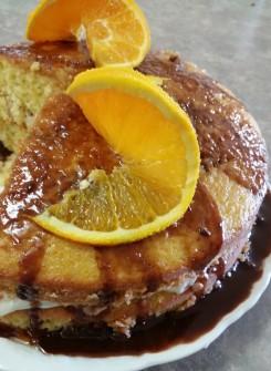 Orange Choc Cake 3