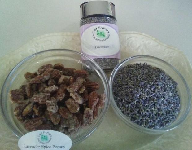 lavender spice pecans